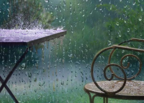 Jour de pluie - Sylvie Delmas