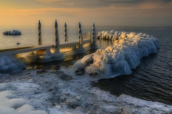 Matin d'hiver - Bernard Plateau